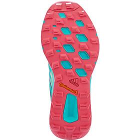adidas TERREX Two Gore-Tex Trailrunning Schoenen Dames, legmar blue/hi res aqua/gold